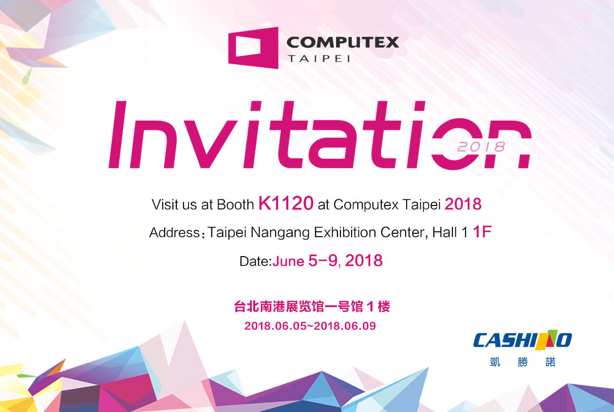 Cashino Invites You to Computex Taipei 2018