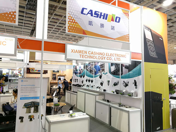 Cashino Displayed Successfully At Computex Taipei 2018